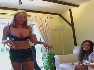 Six Brit chicks try out sex toys in there assholes