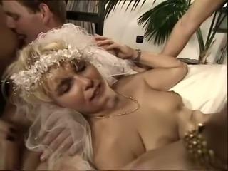 Busty and wild European milf whores really enjoy orgy
