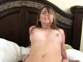 Cali Hayes is excited about riding a lover's hard boner