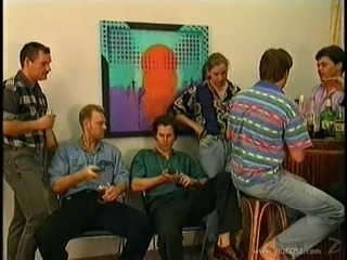 Cool party turns into a wild face fucking groupsex action