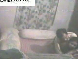 Spy camera in the bedroom of a Bengali Indian couple