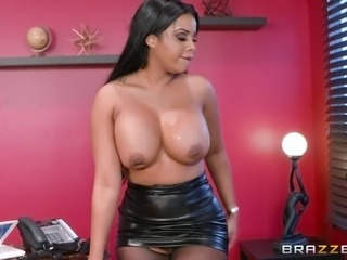 Mary Jean is a nasty chick with massive tits in need of a cock ride