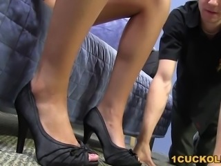 Callie Cobra Fucks BBC While Her Cuckold Hubby Beaten Up