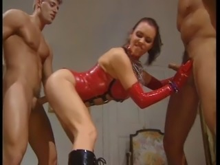 angelica sin - 3 cocks for busty lady