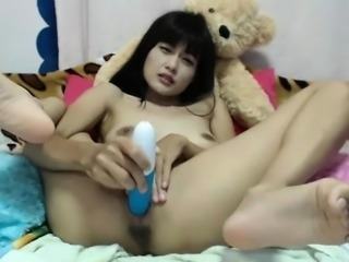 The Shower Jerk Off By A Smooth Skinny Thai Boy