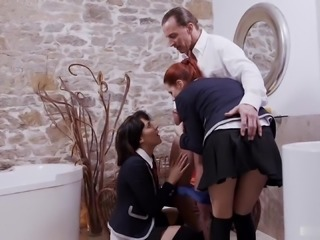 Susana Melo and Bella Beretta are  harlots with very high sex drives