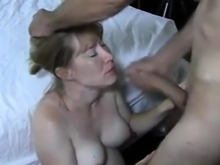 A happy cumshot