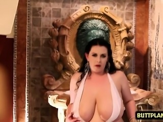 Big tits pornstar dildo and cumshot