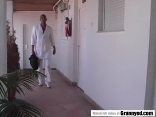 Black doc and hugarian grandma