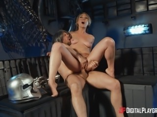 Lily Labeau gets naked for a nasty fuck with an insatiable lover