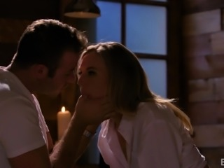 Mona Wales seduced by a hunk for an erotic sexual experience