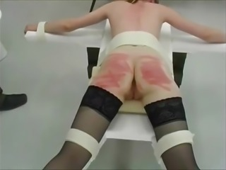 Judicial Caning of two girls