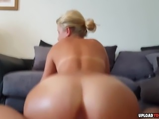 Very hot amateur blonde beauty gets fucked hard and filmed in POV