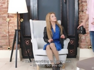 Hot plowing experience for lovely blonde Sonia Sweet