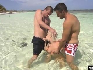 Katrin Wolf has always wanted to have sex on the beach,...