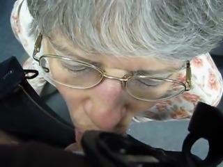Granny Cum Eater