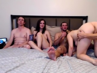 Hardcore fetish group sex