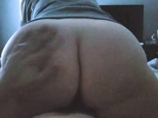 Reverse cowgirl for my husbands pleasure