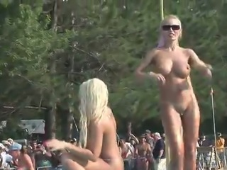 These strippers are hot enough to melt the polar ice and they've got nice tits