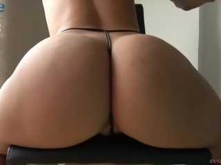 Lucky bald headed stud is happy to pound juicy pussy of bootyful Ms Monroy