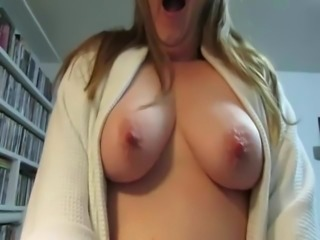 Sexy milf redhead with beautiful soft breasts