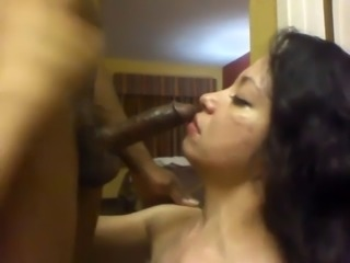 latina swallows his black seed