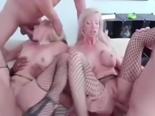 2 sexy milf ass destroyed and fisted