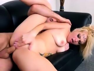 Hot pornstar casting with facial cum