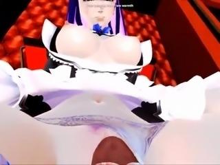 Stocking 3d hentai