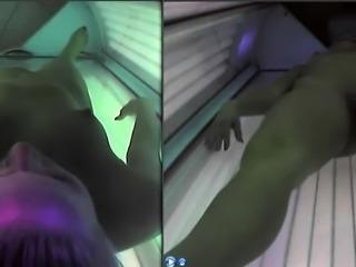 Hot Samantha in 3D POV scene