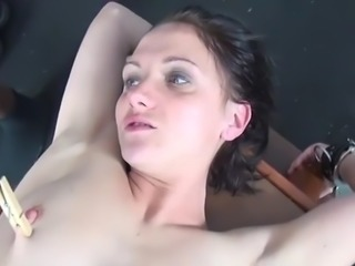 her first rough interracial fetish lesson