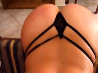 Kinky wife in lingerie and high heels gets banged doggystyle