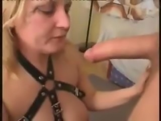 Street Whore slapped, throated spit on it