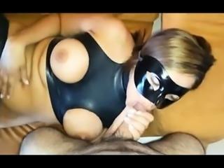 Big cock fetish from cumshot loving blonde slut femdom