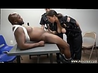 Ebony milf rides white My fucking partner and I met up with office