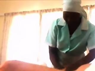 Black Maid blowjob thanks me for her raise