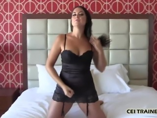 I get so horny when you eat your own cum CEI