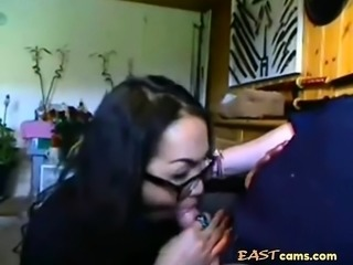 Amateur Asian swallows load