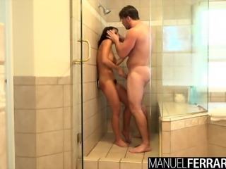 Adriana Chechik Gets Wet And Wild With Manuel