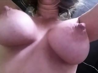 swinging and bouncing tits