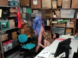 LP officers fucking two hot shoplifters