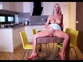 Giant tittied sexpot Elen Million is really into petting her wet pussy