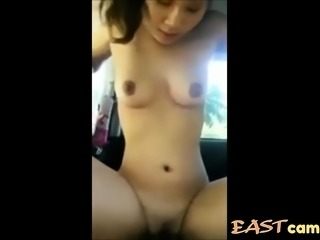 Teen Girl Likes To Ride On Top In The Car