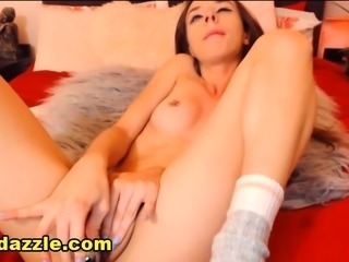 Horny Sexy Young Brunette