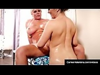 Pussy Lovers Carmen Valentina &amp_ Karen Fisher Eat That Snatch