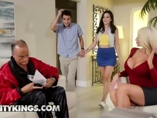 Moms Bang Teens - Nicolette Shea Natalie Brooks
