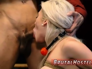 Bdsm sex on the bed Big-breasted blondie hotty Cristi Ann is