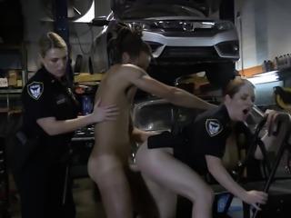 Tall HUGE-DICKED black fugitive fucks white MILF pussy HARD