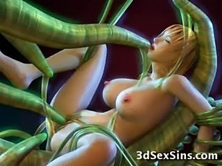 A 3d tentacle world!  free