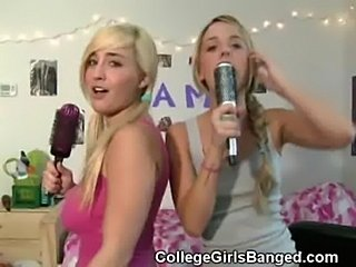 College girls double blowjob  free
